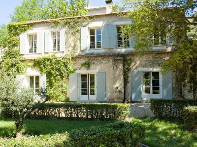 Photo for In the charming village of Roquebrun sur Orb. Suitable for 8 to 10 people.