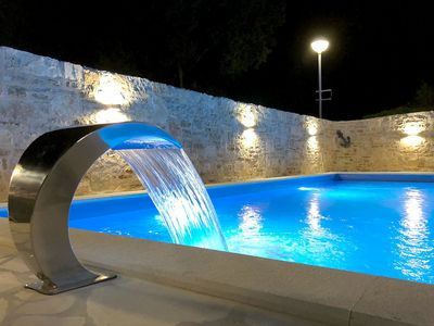Photo for Holiday house with heated pool in Stari Grad, Hvar