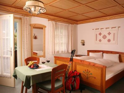 Photo for Double room with shower, WC - Berggasthof-Pension Lahnerhof