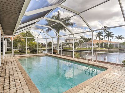 Photo for Cape Coral House w/ Private Pool & Dock - Views!