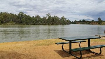 Murray-Darling Junction Park, Wentworth, New South Wales, Australia
