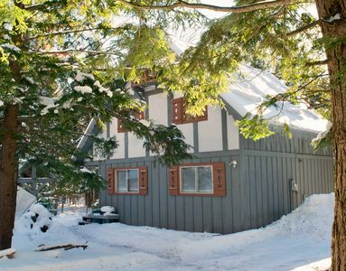 Photo for Charming Swiss Chalet near Copper Peak and waterfalls.