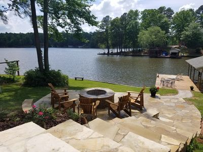 Awesome Views!  Two Full Kitchens And Relaxing Fire Pit Area!