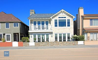 Photo for Large Luxury Oceanfront Home, Patio w/Views, Private Courtyard, 4 Car Parking