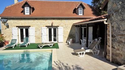 Photo for Villa Découverte, luxury house with private pool