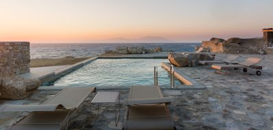 Photo for Amazing Villa La Strada Mykonos, large property with Private Bay 6 BR 7 BATHR, Private Pool, Up to 14 Guests