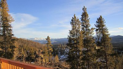 Photo for Mountain Cabin Getaway - Spectacular Views - Close to Skiing