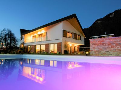 Photo for New modern house (spacious & ecofriendly) with view on the lake & the mountains