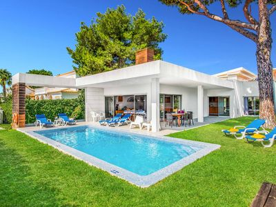 Photo for Balaia Sunset - lovely modern villa with private pool, Wi-Fi & A/C in Albufeira