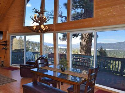 Photo for Nature's Dream: Panoramic Views! Spa! High End! Bear Mountain! Golf Course! Cable TV! BBQ!