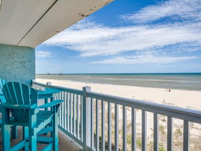 Photo for Direct Oceanfront View! Beautifully Renovated Condo w/ 2 King-Sized Beds