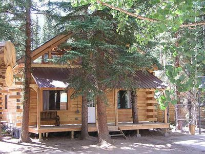 Photo for Log home 4 bed 2 bath on the river waterfall view porches ATV drive-in/out