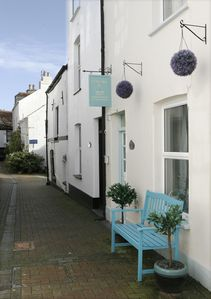 Photo for CURLEWS. Beautiful 4 star period cottage central town & beach location, parking