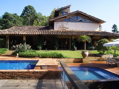 Photo for Easter Package !!Villa Guastalla on the edge of the dam - Ibiuna - SP