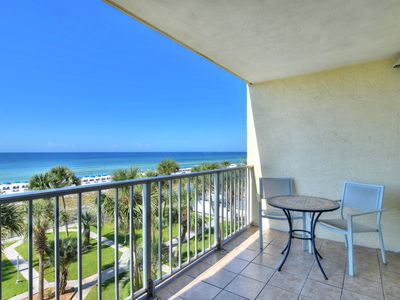 Photo for Cozy & Upgraded gulf front 4th floor unit.  Relax and enjoy the view!