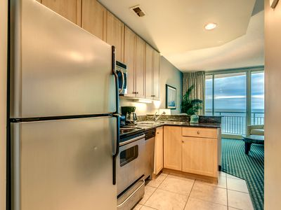"Breathtaking Ocean Front Condo, Modern Deco, Downtown MB New 50"" Smart TV"