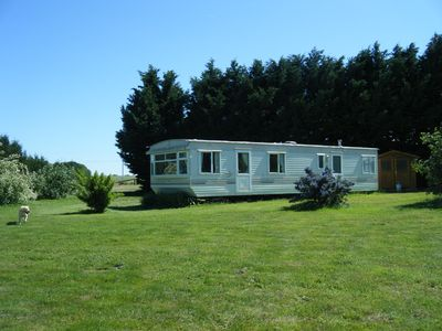 Photo for Mobile Home set in five acres with panoramic views