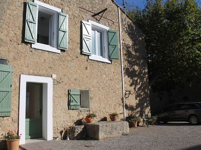 Photo for Gîte upstairs, charm, friendliness in the countryside. ideal family
