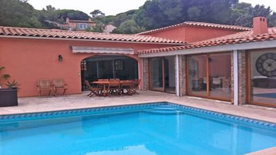 Photo for Villa T7 - 11 people - Private pool - Hammam - Air conditioning - WiFi - Sainte Maxime