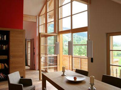 Photo for Fantastic alpine loft in the skiing and hiking area