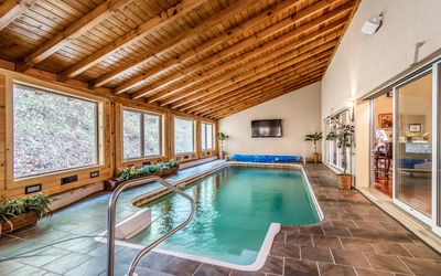 Pool - Your gorgeous estate includes an indoor heated pool.