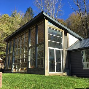 Photo for Modern, Light-Filled Cabin in the Heart of Catskill Park on 12 Acres