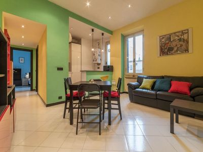 Photo for NEW! Colorful Flat x3 ROMA PIGNETO