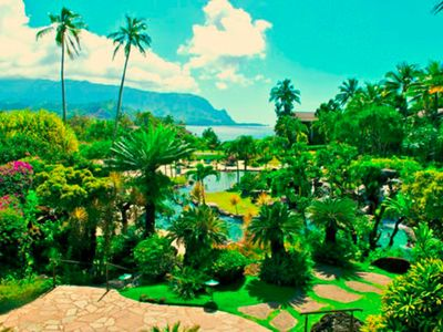 Photo for Hanalei Bay Resort 1 Bedroom Condo w/Living Room in Kauai Hawaii w/Amazing View!
