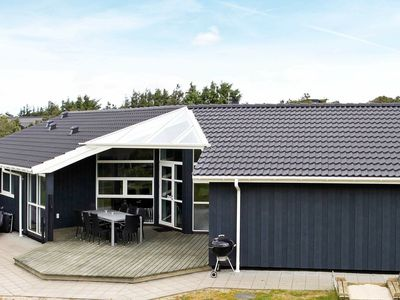 Photo for Modern Holiday Home in Henne with Whirlpool