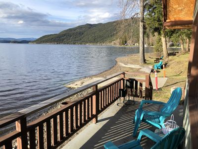 Photo for South Point Resort  Vacation Rental - 1 Bedroom Lakeside Cabin