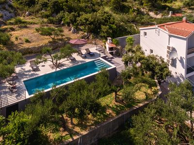 Photo for NEW! Cottage with heated pool, terrace, three bedrooms, modern decor