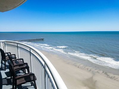 Photo for 2BR/2BA Deluxe Oceanfront Condo at Sandy Beach Resort~Sandy Beach 1612