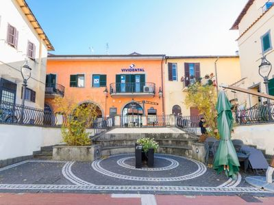 Photo for Grottaferrata Apartment, Sleeps 2 with Air Con and WiFi