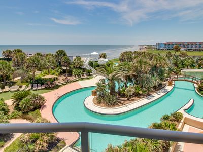 Photo for Diamond Beach Resort penthouse w/ pool, hot tub, game room - on the oceanfront