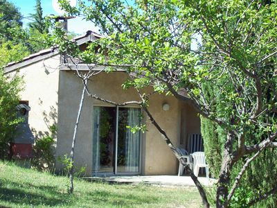 Photo for Independent house for 6 people with garden 8 km from Vallon-Pon D'arc