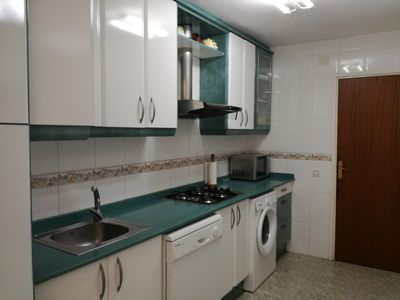 Photo for Apartment on firs line sea. 3 bedrooms and 2 bathrooms, for 5 people