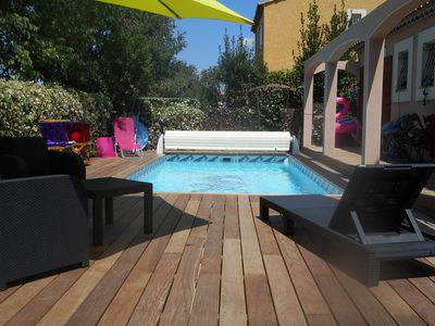 Photo for VillaF5 / Private Pool / 5mnplages / 11 couch / 2SDB / 2WC