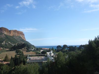 Photo for 1BR Apartment Vacation Rental in Cassis, Provence-Alpes-Côte-D'Azur