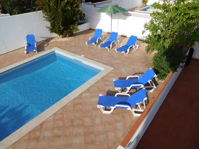 Photo for Attractive and spacious 3/4 bedroom villa with private pool AL No 34179