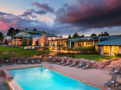 Photo for Golf + Worldclass Spa | Serene Cottage with Fireplace + Private Patio