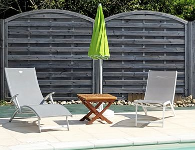 Photo for villa dolus d'oleron, heated swimming pool shared by our 2 apartments (4p and 6p)