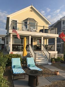 Photo for Beachfront house on Long Beach Rockport.