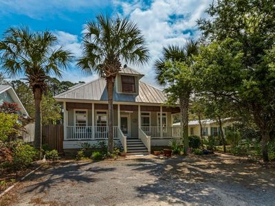 Photo for Bon Villa!  Private Heated Pool - Short Walk To The Beach - Screened In Porch - South Of 30A - WiFi