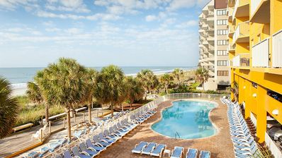 Photo for A Summer Vacation at An Oceanfront Vacation Condo Unit