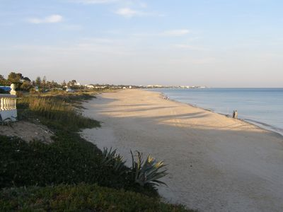 Photo for Hammamet North: Townhouse 100 m from a beautiful sandy beach