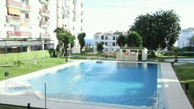 Photo for Studio with spectacular sea views at 200m. of the beach