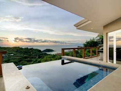 Photo for Beautiful Cliffside House - Magnificent Views of Playa Ocotal & Papagayo Gulf