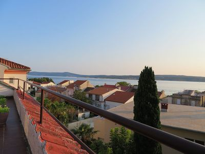 A view from private terrace.