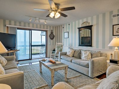 Photo for N. Topsail Beach Oceanfront Condo w/ Pool!