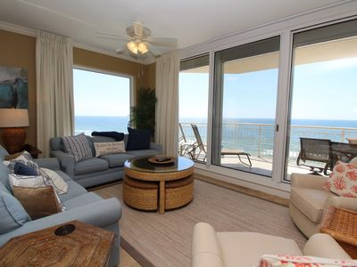 Photo for Indigo West 801 with Private Poolside Cabana and Beach Front Views!